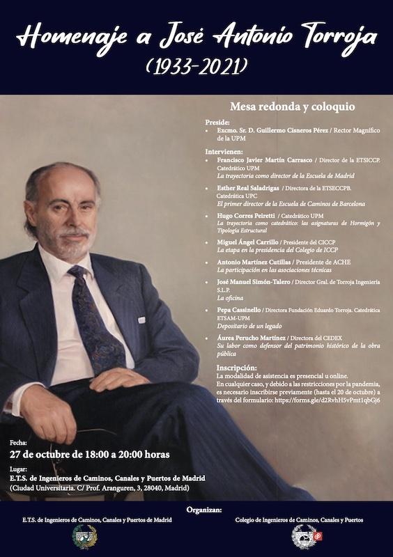 Acto Homenaje a José Antonio Torroja