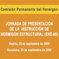 Jornadas de presentación de la EHE-08