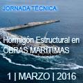 Jornada ACHE - ATPYC Hormigón estructural en obras marítimas