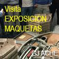 Visita a la exposición de maquetas organizado por GJ ACHE